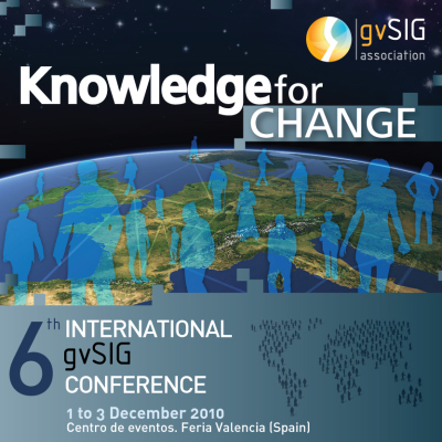 6th International gvSIG Conference