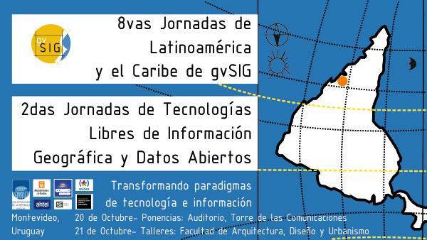 8as Jornadas de Latinoamérica y Caribe de gvSIG