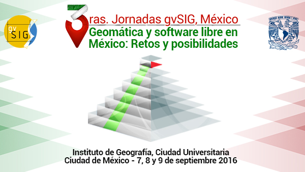 3as Jornadas gvSIG México